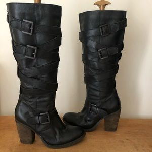 Steve Madden Renegade leather boots